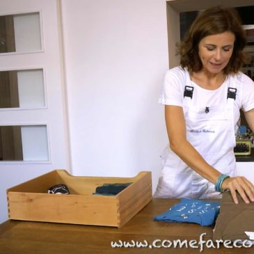 Piegare i vestiti con il metodo di Marie Kondo