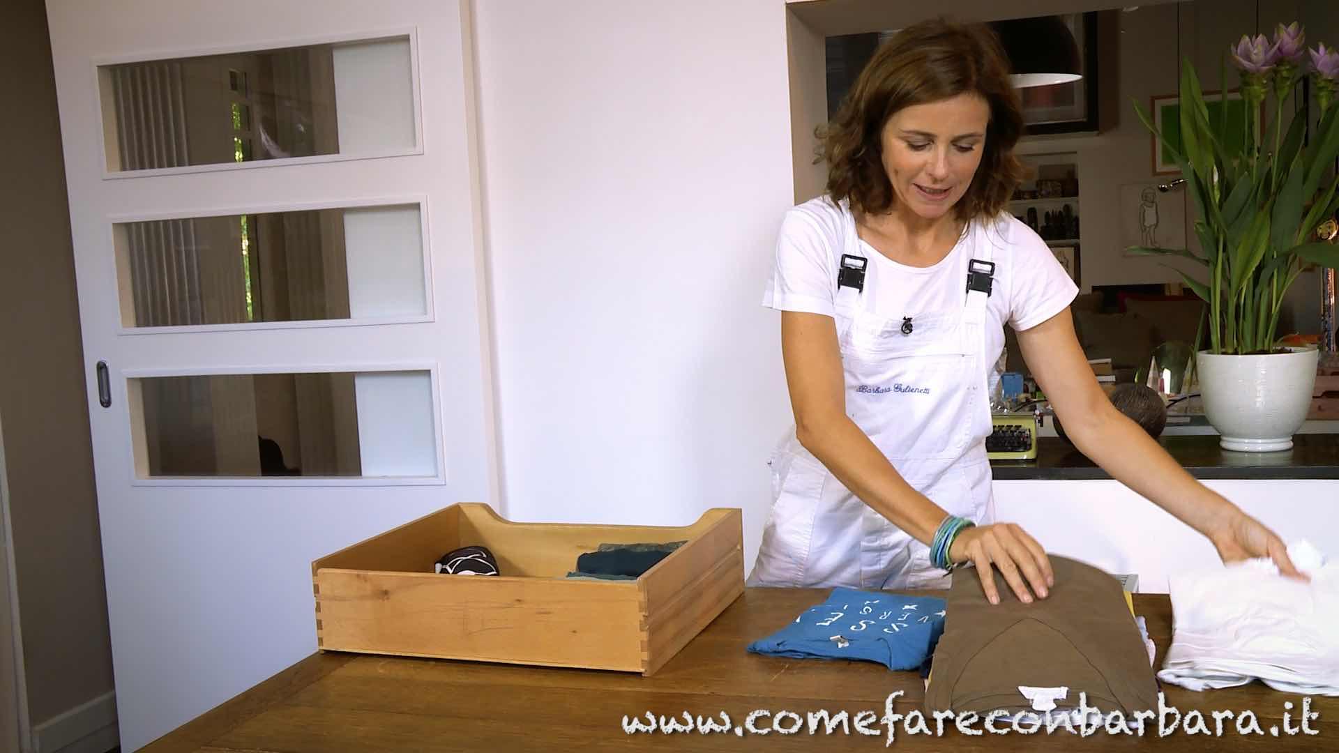 Il metodo Konmari per riordinare i cassetti