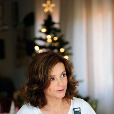 Albero di Natale con candeline e ciambelline (e la ricetta!)