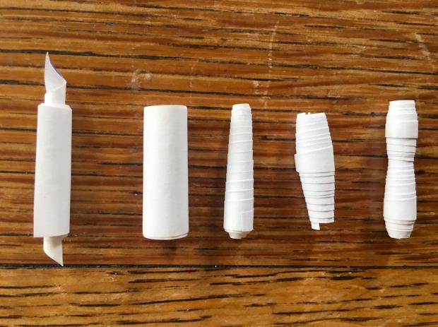 Ecco come sono fatte le perline di carta
