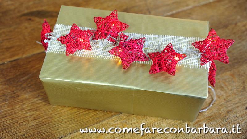 Pacchi Natale Luminosi.Pacchetti Di Natale Fai Da Te Idee E Video Tutorial