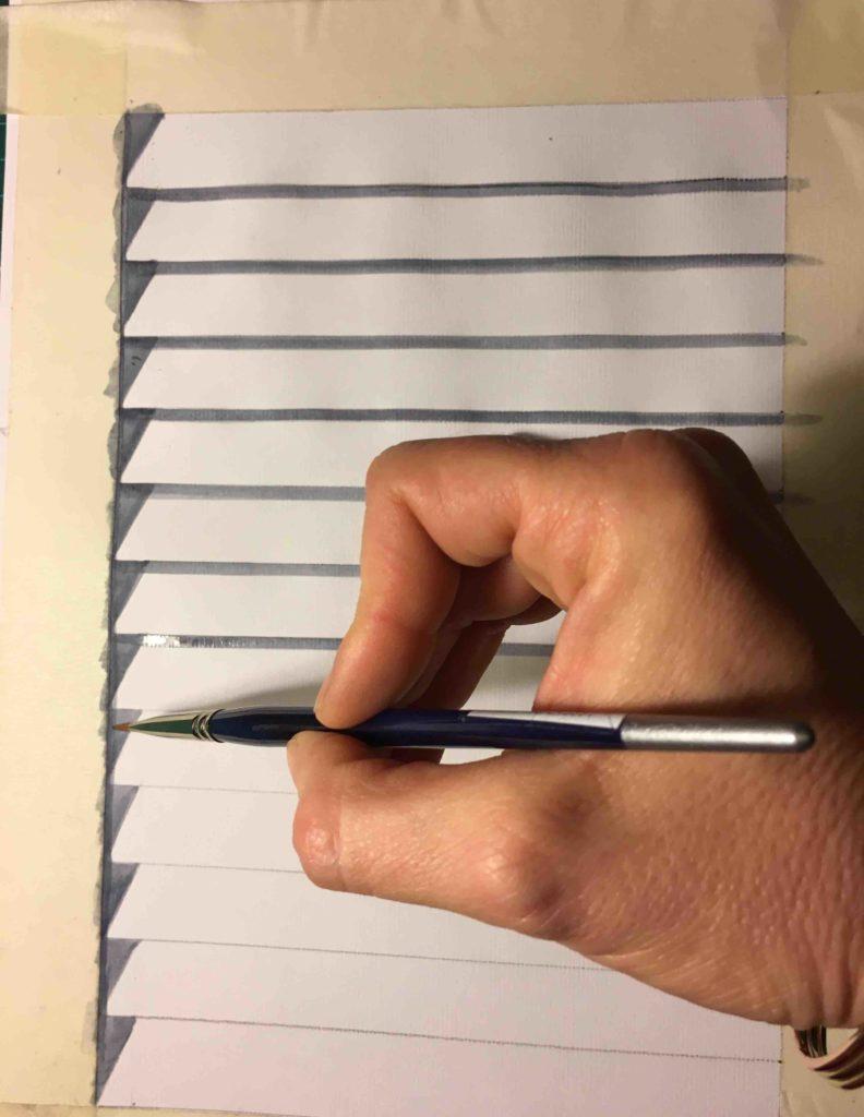 tutorial trompe l'oeil persiana