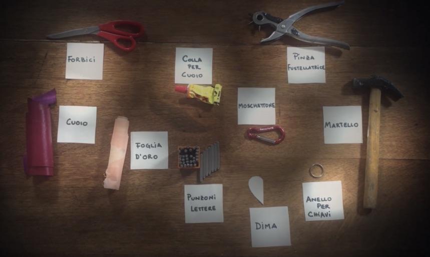 Portachiavi di cuoio a forma di cuore idea regalo per for Dima per cerniere anuba fai da te
