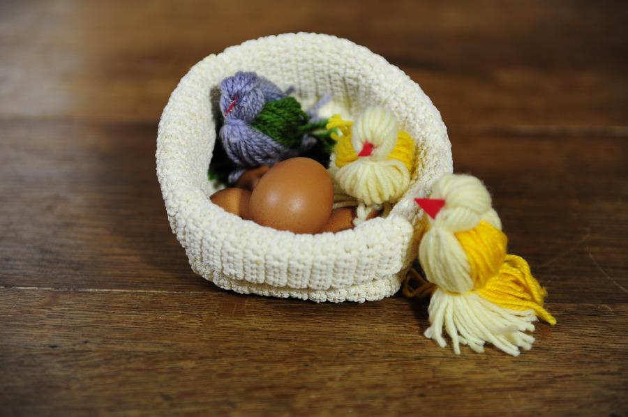 Pasqua fai da te - Idee e lavoretti - Uccellini di lana