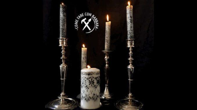 Candele Da Giardino Fai Da Te : Candele di halloween fai da te in bianco e nero