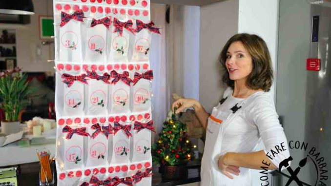 Calendario avvento fai da te Barbara Gulienetti Come fare con Barbara