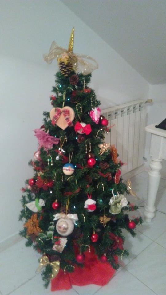 Albero Di Natale Fai Da Te Decorazioni Idee Alberi Particolari