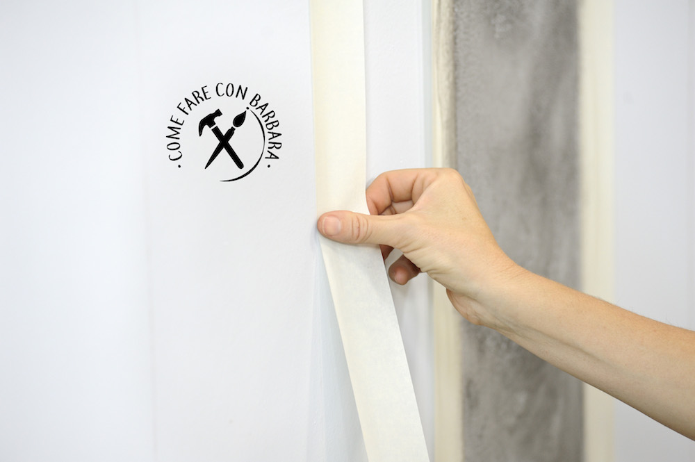 Pareti A Strisce Lilla : Come dipingere una parete a righe verticali
