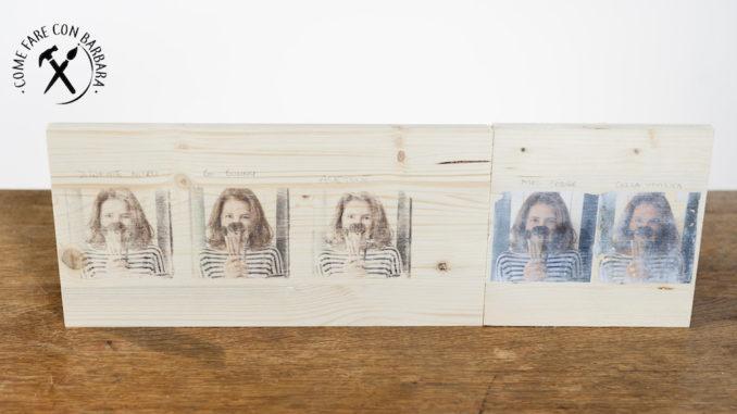 Come trasferire immagini su legno - Come fare con Barbara