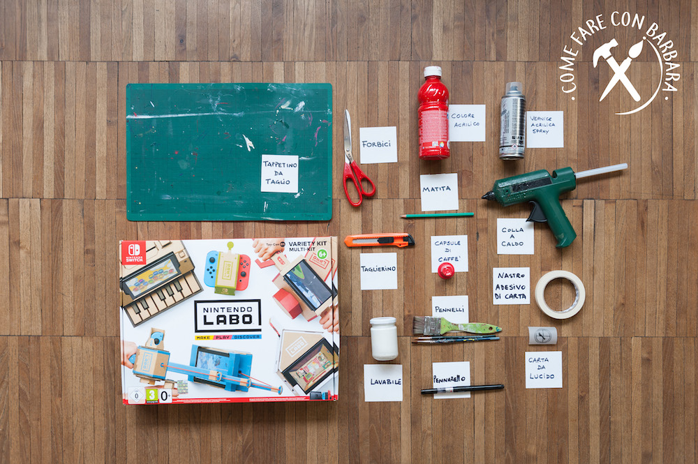 Nintendo Labo Toy-con casetta: cosa usare per personalizzarlo