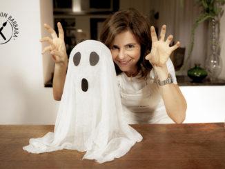 Fantasmino di Halloween fai da te